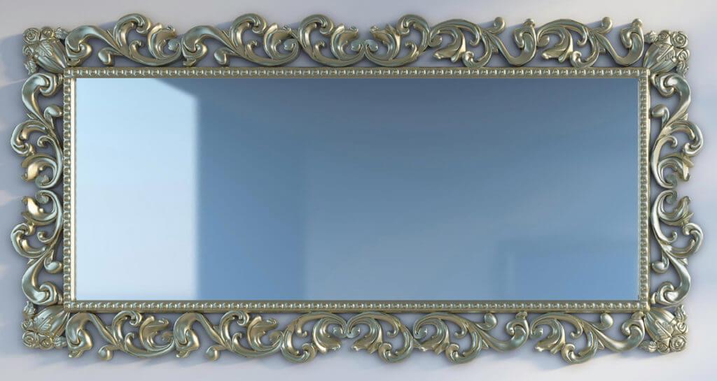 Зеркала, карнизы